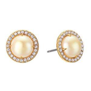 New Kate Spade Bright Ideas Halo Pavè Earrings